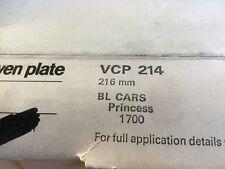 BMC Princess 1700 Clutch Plate 1978 On