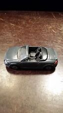 MAISTO GREY AUDI CONVERTIBLE METAL DIE CAST TOY CAR FREE SHIPPING