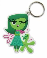 DISNEY PIXAR INSIDE OUT DISGUST RUBBER KEYRING NEW OFFICIAL MERCHANDISE