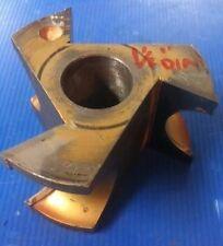 "LRH  K-1428 Concave 3/4"" Radius Carbide Shaper Cutter Molder"
