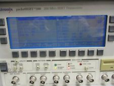 Tektronix Model: packetBert 200.  200Mb/s BERT Transciever.   <
