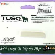 SILLET IVORY TUSQ PQ-4000-00 non entaillé JUMBO XL Acoustic BLANK NUT graphTech