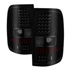 Ford 04-08 F150 F-150 Black Smoke LED Tail Brake Lights Left & Right Set
