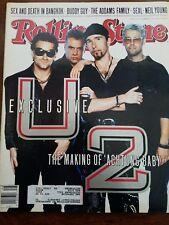 Rolling Stone Magazine U2 November 1991 Issue 618. Memorabilia.