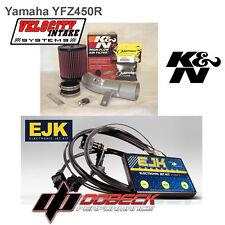 YFZ450R EJK Fuel Controller & Velocity Intake Kit K&N air Filter YFZ450X YFZ450