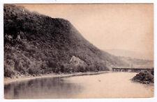 Rare 1907-1915 Looking South From James Street Bridge Towanda Pa Antique Divided