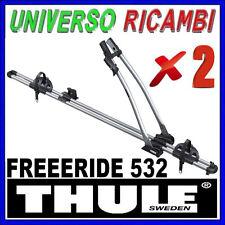 2 Portabici da tetto  - Thule Freeride 532