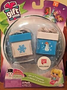 2017 Holiday Gift 'Ems Series 3 World of Friends 2 pk  Walgreens Exclusive  Blue