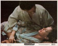 Emmanuelle original 1975 8x10 lobby card Sylvia Kristel in scene