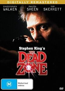 THE DEAD ZONE - NEW & SEALED REGION 4 DVD - FREE LOCAL POST