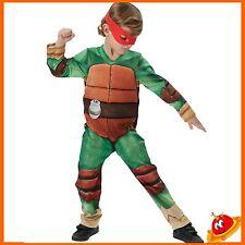 Costume Carnevale Ragazzo Bambino Tartaruga Tartarughe Ninja Tg 5-8 anni