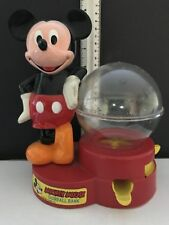 Vintage Mickey Mouse Gumball Bank 1986 Walt Disney Co.