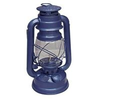 "HURRICANE LANTERN LAMP KOOKABURRA 9"" NAVY CITRONELLA OIL KEROSENE BRAND NEW"