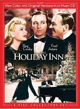 3 Disc Holiday Inn COLORIZED & B&W +CD: Bing Crosby Fred Astaire Virginia Dale
