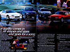 1989 Chevrolet Corvette-Camaro RS-IROC-Beretta GT-Cavalier Z24 Original Print Ad