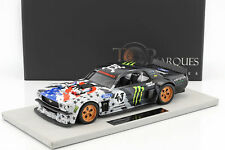 Ford Mustang Hoonigan V2 estrellas and rayas #43 Ken Block 1965 Negro/gris 1 1