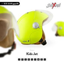 SOXON SK-55 + KIDS JET-HELM + KINDER-HELM MOTORRAD-HELM ROLLER-HELM VESPA + ECE