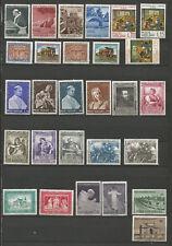 Poste Vaticane 1964 26 timbres neufs et 2 timbres oblitérés /T4876