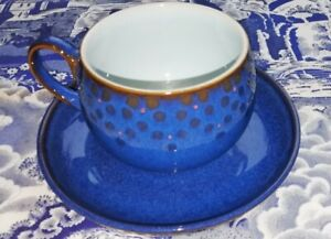 Denby Midnight One Cup & Saucer - ( Up to 3 available)