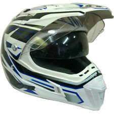 Viper RSV188 Stream DVS Motorbike Motocross MX Helmet Enduro Crash Blue XS