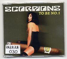 Scorpions MAXI-CD to be no. 1 - 2-track promo CD-pro1189/1828
