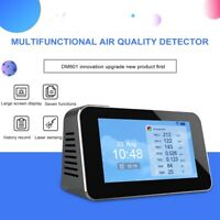Digital Air Quality Laser PM2.5 PM10 PM1.0 TVOC HCHO Detector Tester Gas Monitor