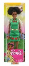 "Barbie® Dreamhouse Adventures NIKKI DOLL (Brunette, 11.5"", Green Dress)"