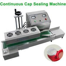 20-80mm Continuous Induction Sealer Automatic Bottle Cap Sealing Machine