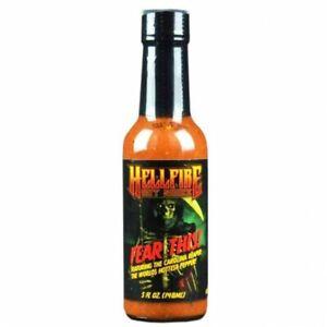 Hellfire Fear This! Award Winning Carolina Reaper Hot Chilli Sauce