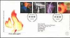 GB FDC 2000 Fire & Light, Bureau H/S #C22981