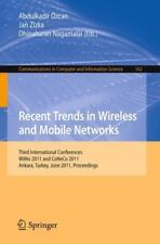 Recent Trends in Wireless and Mobile Networks : Third International...
