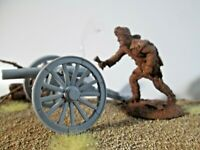 💥Conte*ALAMO*PLAYSET Resin Defender*54mm-Gos w/Barzso & Marx CANON INCLUDED🎇🎆
