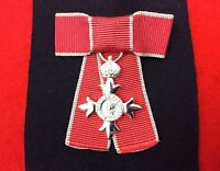QUALITY MBE MINIATURE ON A BOW Ladies MBE Bow British Empire Medals