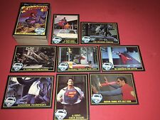 1983 Topps Superman III Complete 99 Card Trading Set Nm/Mt No Stickers
