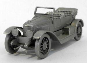 Danbury Mint Pewter Model Car Appx 7cm Long DA12 - 1914 Vauxhall Prince Henry