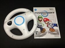 Mario Kart (Nintendo Wii ) Game & Wheel.
