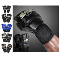Gym MMA Muay Thai Sac de Boxe Demi Mitaines Sparring Boxe Gants pour Femmes et
