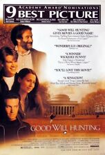 Good Will Hunting great 27x40 D/S movie poster 1997 Last One (th44)