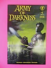 1992 Dark Horse Comics Army Of Darkness # 1 Raimi Bolton Rare Hot Key 9.4 NM