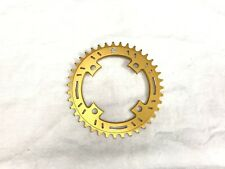Snap BMX Products S4 104mm 4 bolt Chainring - 38t Gold