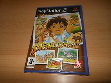 Go Diego Go Safari Rescue (PS2) NUOVO SIGILLATO UK VERSIONE PAL