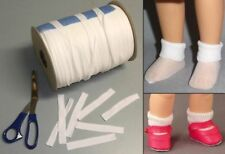 "3 YARDS of SOCKS - fit favorite 8 inch dolls - Ginny, Riley, Wendykins & 8"" HP"