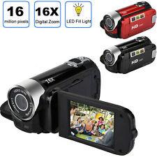 1080P Camcorder Digital Video Camera Tft 24Mp 16x Zoom Dv Av Night Vision black
