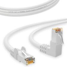 CAT 6 Patchkabel Netzwerkkabel 90° Winkelkabel Ethernet LAN Internet Kabel DSL