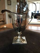 More details for antique silver cream jug 1793 ..hall marked