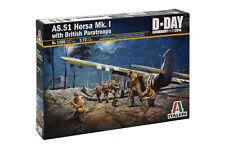 Italeri 1356 1/72 Scale Model Kit WWII AS.51 Horsa Glider w/British Papatroops