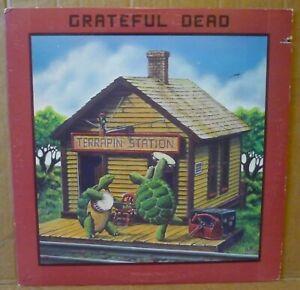 GRATEFUL DEAD Terrapin Station LP ARISTA 1977 US orig+inner JERRY GARCIA