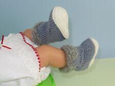 Instructions imprimées-Bébé de Fourrure Bottes Chaussons bootees haut motif tricot
