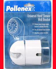 NEW POLLENEX UNIVERSAL HAND SHOWER WALL BRACKET PWBK00 swivel design