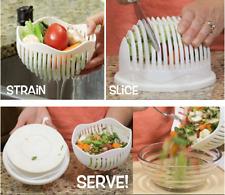 60 Seconds Salad Maker Bowl Cutter Slicer Easy to Make Salad Tool 2017